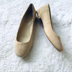 Calvin Klein Frederica Studded Ballet Flat